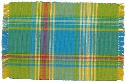 Margarita 100% Cotton 18 Placemat (Set of 6) by Traders and Company